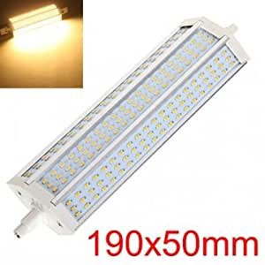 R7S 15W Warm White 1300-1350LM 180 SMD 3014 LED Light Bulbs AC90-265V