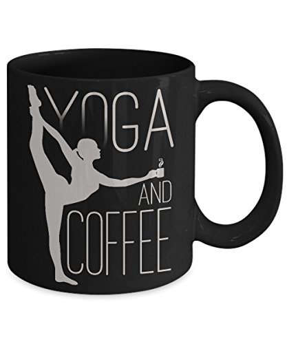 YOGA FUEL MUG ~ Funny yoga related coffee mugs - lovers hot gift ideas / inspired fun teacher - instructors birthday gifts for her/him/men/women/mom/Dad/Wife/Husband White C handled 11 - Banned Names Usa In