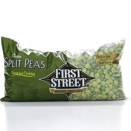 First Street Green Split Peas, 16oz (Single) by First Street