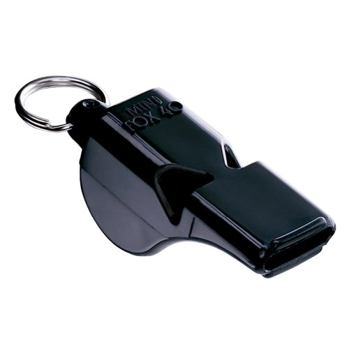 (Fox 40 Mini Official Whistle (Black))