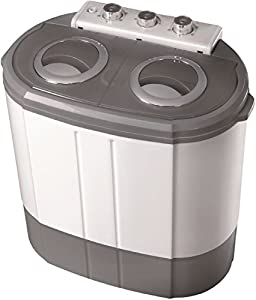 Mini Waschmaschine Waschautomat Camping Toploader mit Schleuder bis 3KG