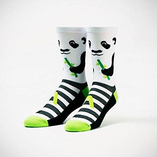 Primal Wear Men's Panda Cycling Bike Socks, Multicoloured, Size...