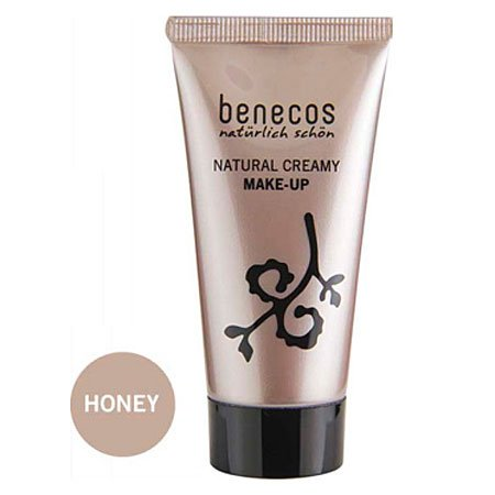Benecos, Natural Creamy Make-Up, Flawless Face Matte Foundation, Honey, 30ml