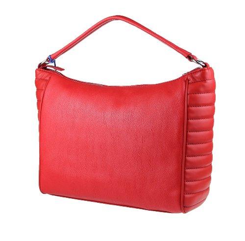 Versace Jeans - Bolso de asas para mujer 35x28x12 cm (BxHxT) Rojo