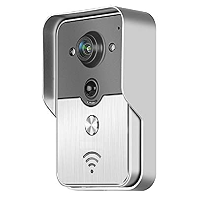 Powmax WW-05 2.4G Wireless Door Phone Doorbell Intercom System Wireless Digital Night Vision 7 inch TFT Home Security Monitor