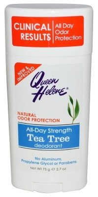 - Queen Helene Deodorant Teatree Oil 2.7 Ounce Stick (79ml) (2 Pack)