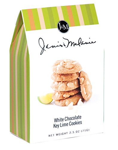 Key Lime White Chocolate (J & M FOODS Cookie Box, White Chocolate Keylime, 12 Count (Pack Of 12))
