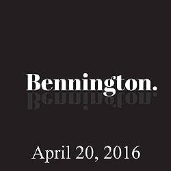 Bennington, April 20, 2016