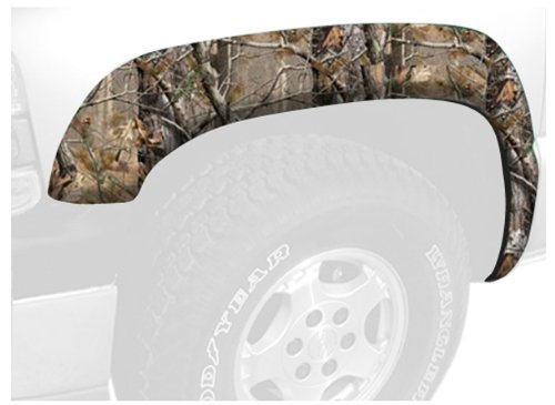 Camo Fender Flares - Stampede 8414-17 Ruff Riderz Fender Flare with Realtree AP Pattern, Camo