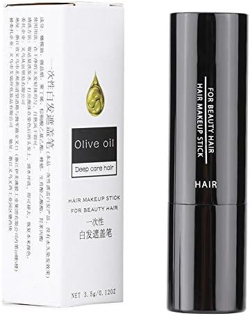 Tinte para el cabello- Color de cabello Pluma Lápiz labial temporal Tinte para el cabello Tinte de cabello Blanco Cubierta para el cabello Bricolaje ...