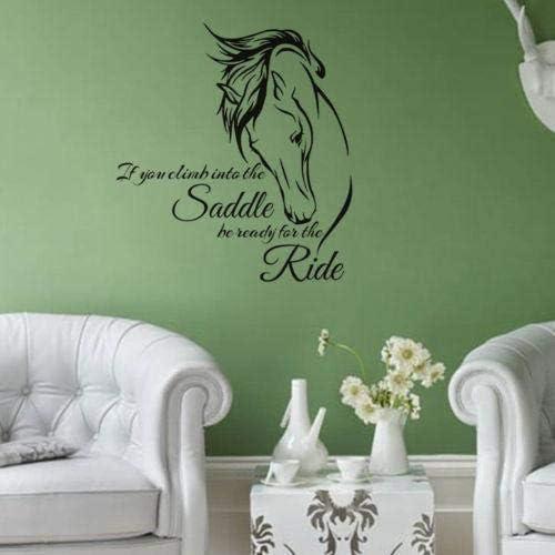 Wallpaper Living Room Bedroom Decals Waterproof Indoor Decorations Horse Price In Uae Amazon Uae Kanbkam