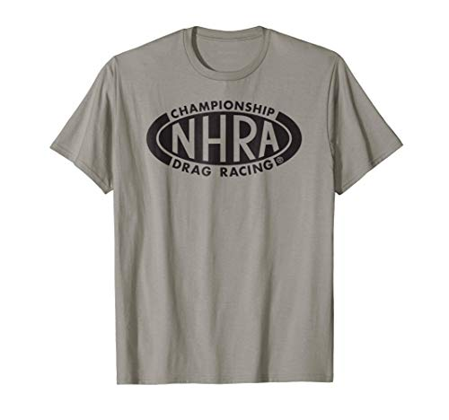 NHRA Championship Drag Racing black oval logo (Nhra Clothing)