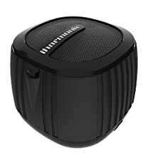 Qmadix QPOP Bluetooth Mini Speaker - Retail Packaging (Black)