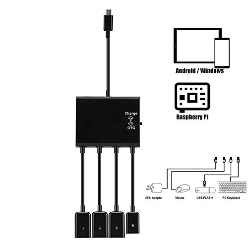 Picture of a Micro Usb HUB Adaptor with 797698828596