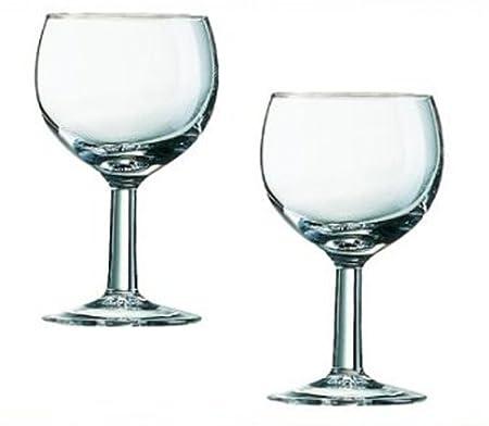 A&R - 12 copas de vino tinto vino copa de balón vasos 0.1 cl 16 ...
