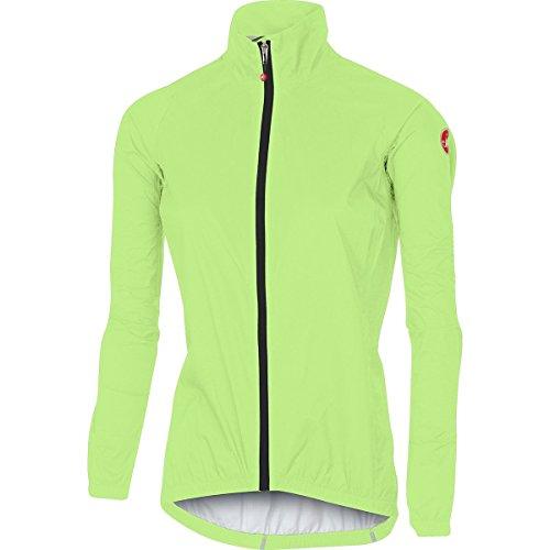 (Castelli Emergency Jacket - Women's Yellow Fluo, M)