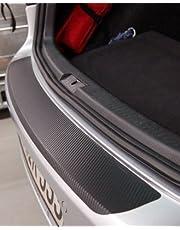 Bumperbescherming voor Seat Mii (4 deuren) chroom carbonfolie 160 μm dik