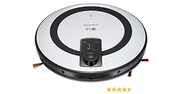Lg 8806084575166 - Aspirador robot vr5943l hombot: Amazon.es: Hogar