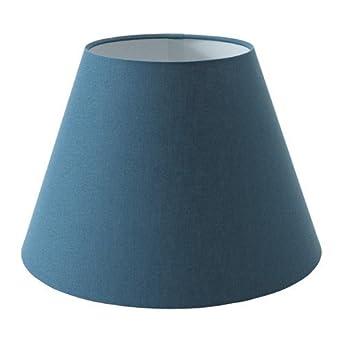 ikea ollsta lampenschirm in blau 34cm