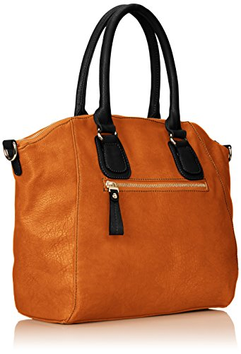 MG Collection Hamilton Oversize Shopper Tote Convertible Shoulder Bag