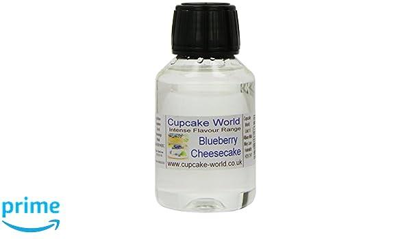 Cupcake World Aromas Alimentarios Intenso Tarta de Queso con Arándanos - 100 ml: Amazon.es: Alimentación y bebidas