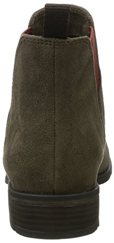 Marco Tozzi 25321, Botas Chelsea para Mujer Verde (Olive Comb)