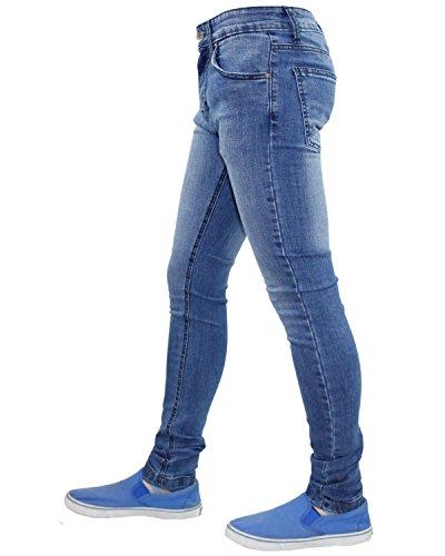 Pantalón True hombre ajustado Light Mid Face Wash elástico Tf021 para f4PfUHq