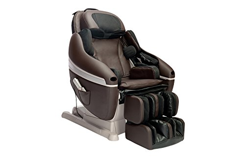 INADA Sogno Massage Chair, Dark Brown