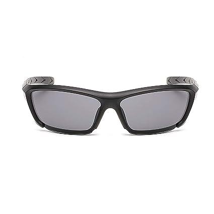 Ogquaton UV400 Gafas de Sol para Montar Gafas de Sol Deportivas Gafas de Sol ultraligeras polarizadas Adecuadas para el Ciclismo Esquí Pesca Patinaje ...