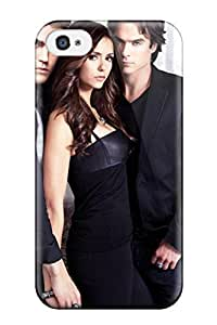 New TLDkKgY6176mdLmA The Vampire Diaries Season 2 Skin Case Cover Shatterproof Case For Iphone 4/4s