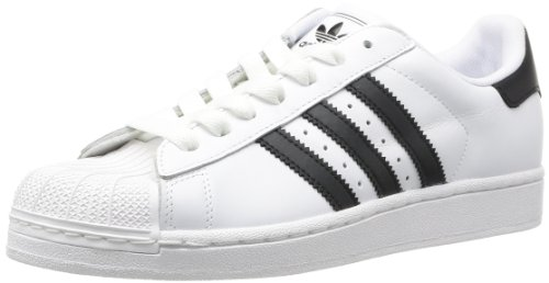 adidas mode Noir Blanc Originals homme Superstar Baskets II Blanc wII6ar