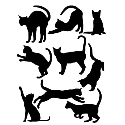 Cat Fan related Products Zebra Removable Vinyl Art DIY Quote Cats Wall Decal Mural Sticker... [tag]