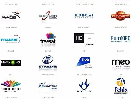Cuenta MU Europa Iks Cccam Cline 1 Año trabajo suscripción en Alemania Reino Unido España Francia Italia etc soporte receptor Cccam Sky Sports: Amazon.es: Electrónica