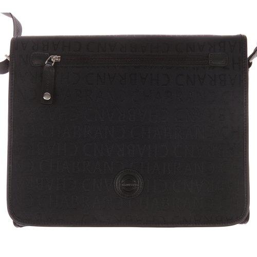 nylon Chabrand Besace cha25612 ref et en cuir noir rEzdwxFznq
