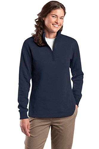Ladies 1/4 Zip Fleece - 2