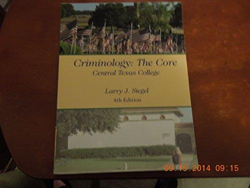 criminology the core 4th edition pdf