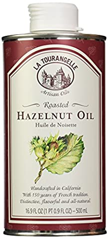 La Tourangelle, Roasted Hazelnut Oil, 16.9 Fluid Ounce (Hazelnut Roasted)