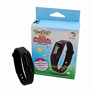 Brook Pokemon Go Pocket Auto Catch Bracelet Wristband & Watchband Collect Catcher Adapter