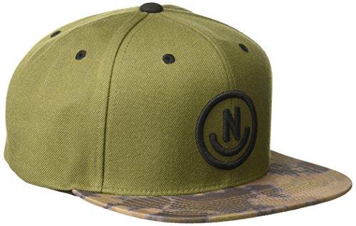 - NEFF Men's Daily Cap, Olive/camo dye One Size
