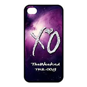 DIY Hard Snap-on Backcover Case for Iphone 4,4s- The Weeknd XO