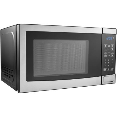 Amazon.com: Mainstays 0,7 Cu ft Horno de microondas, acero ...