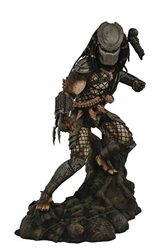 DIAMOND SELECT TOYS Predator Gallery: Jungle Predator PVC Figure, -