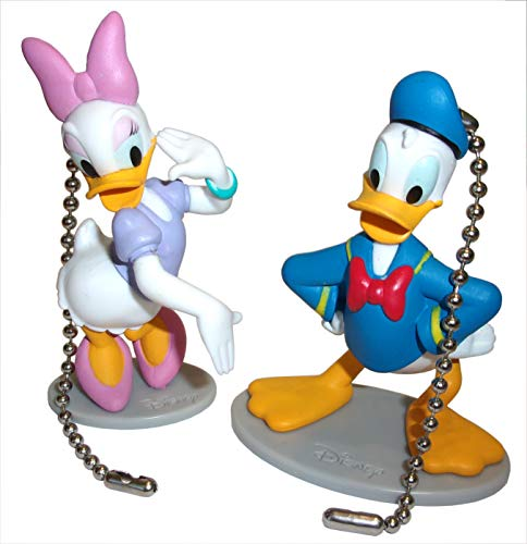 - Mickey Mouse Clubhouse Ceiling Fan Pull Set by Wooden Androyd Studio (Donald Daisy Pair)