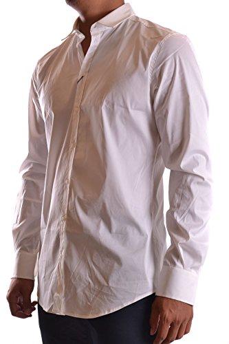 Dolce E Gabbana Camicia Uomo MCBI099124O Cotone Bianco