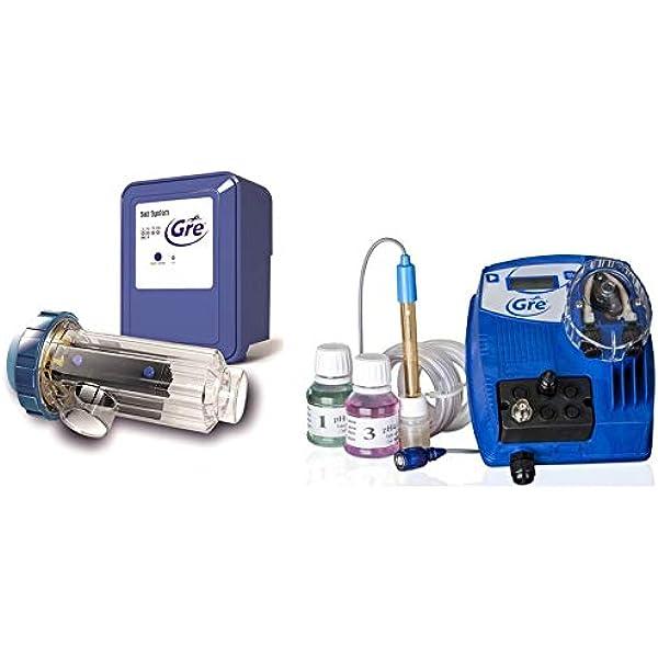 Gre SCGPH60 – Clorador Salino + Controlador de pH, para Piscinas ...