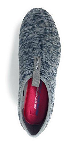 Gris Empire Skechers Basses Inside Femme Sneakers Blanc Noir Look ZfOfq8dx