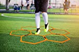 Max4out Hexagonal Speed Agility Training Rings