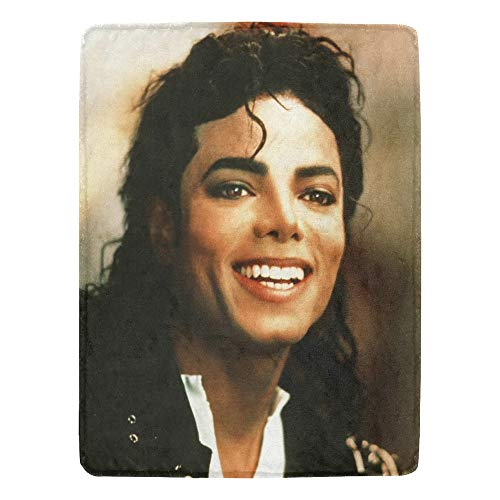 Christie Quinn Michael Jackson Ultra-Soft Micro Fleece Blanket (Smile, 60