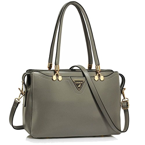 Delivery Hombro Grey Guardar Uk Entrega Bolso Grab Grab Shoulder Gratuita 50 Precioso Handbag Del Uk Gorgeous 50 Free Save Gris 7AYqwUg