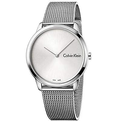 Calvin Klein Mens Minimal Watch - K3M211Y6 Silver One Size
